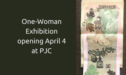 PJC's Foyer Gallery hosts One-Woman Exhibition opening April 4