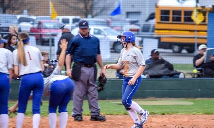 Pantherettes Dominate in First District Win
