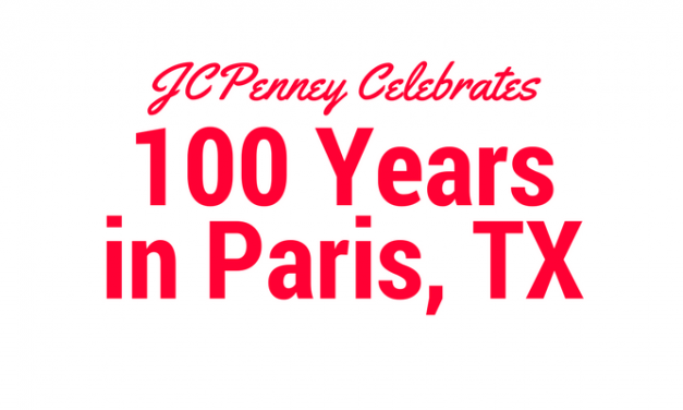 JCPenney Celebrates 100 Years in Paris this Friday, April 7, 2017