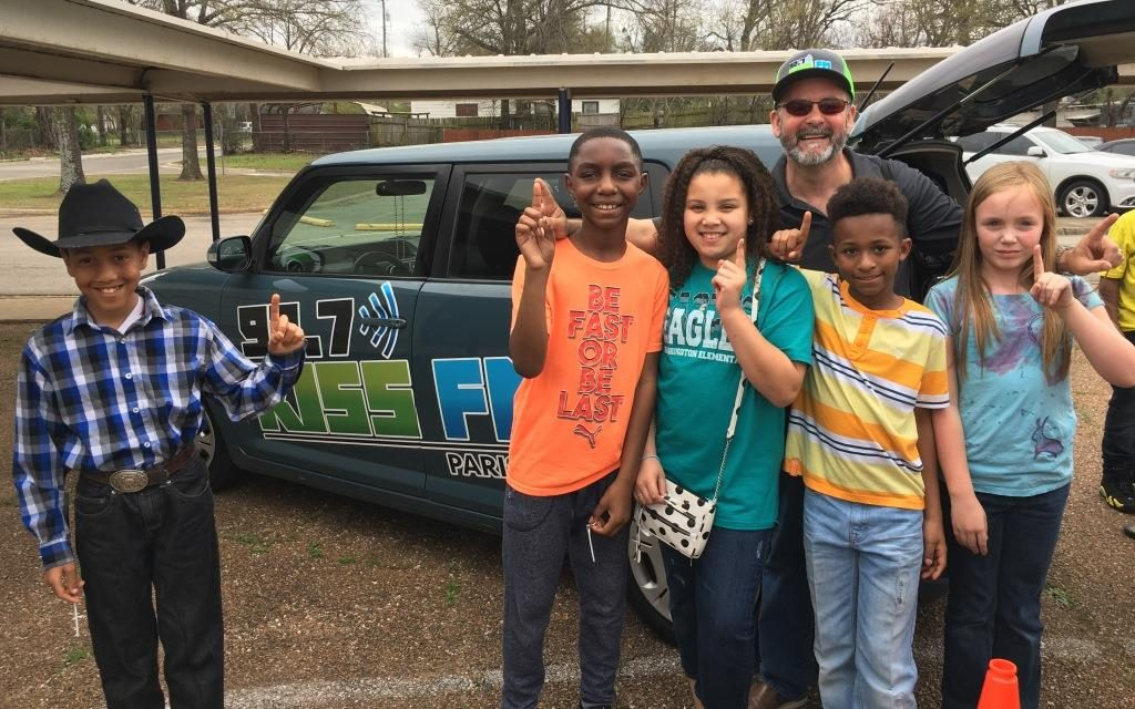 Justiss Students ROCK Texas Public Schools Week with radio