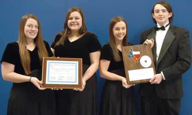 NLHS Band Receives Outstanding Performance Award