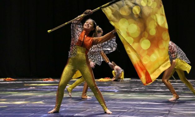 Paris High School's Winter Guard  advances to World Championship