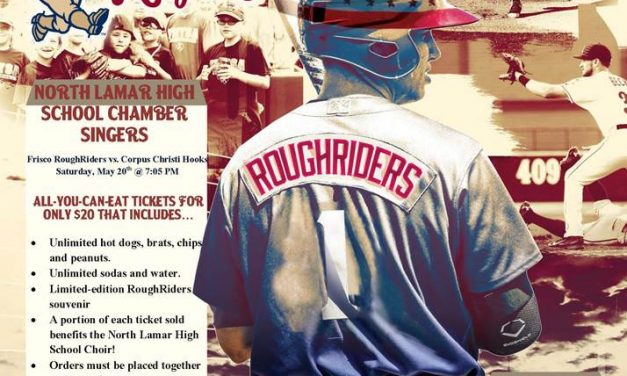 NLHS Choir Teams Up with the Frisco RoughRiders