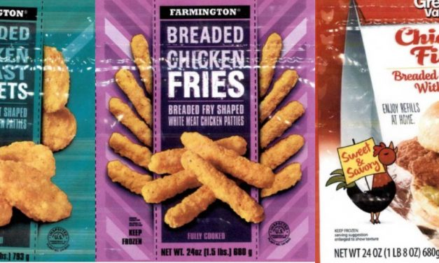 Over 900,000 lbs of Chicken Recalled