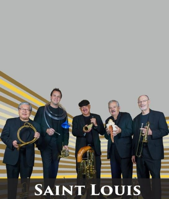St. Louis Brass Quintet in Paris, TX