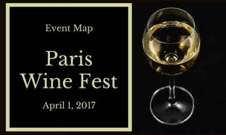 Paris Wine Fest on April 1, 2017 – Event Map