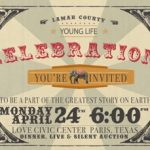 Lamar County Young Life invites you to a Fundraising Celebration