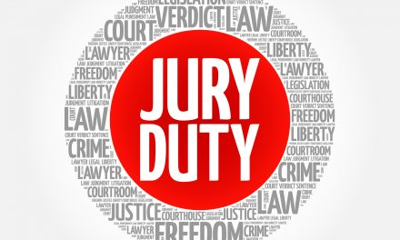 Jury Duty cancelled for tomorrow, Monday, May 1, 2017