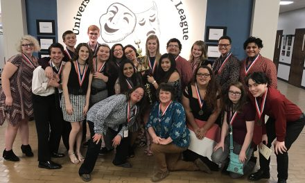 Paris High School One Act Play Advances to Bi-District Competition