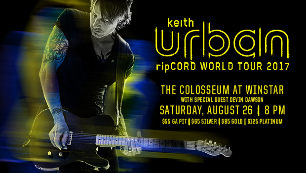 Keith Urban in August
