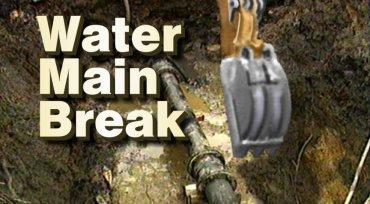 Main Water Break