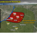 Severe thunderstorms expected this weekend