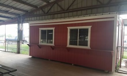 New Livestock Office Donated to Local 4-H and FFA