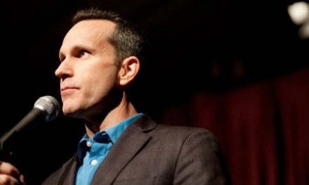 Jimmy Pardo at LMAO on April 28