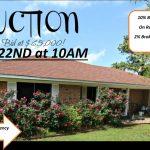 Home auction – bid starting at $65,000