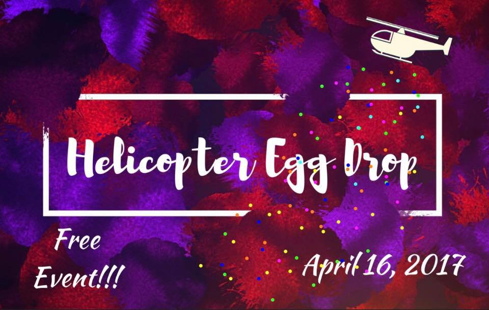Helicopter Easter Egg Drop tomorrow – Free Event