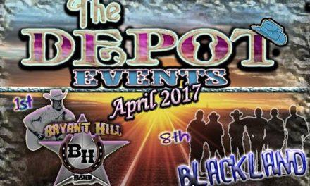 The Depot – April Events