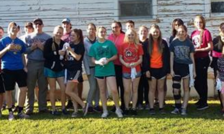 NLHS students lend a hand to 'A Brush with Kindness' paint project