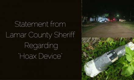 Sheriff Cass Makes Statement Regarding Hoax Device