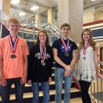 Paris High School UIL Social Studies Team takes first in District