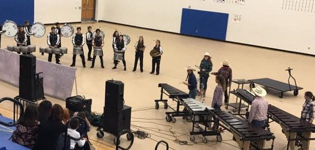 Paris Drum Line Makes Strong Showing at Competition
