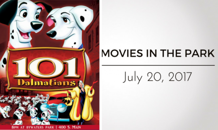 "Movies in the Park presents ""101 Dalmations"" This Thursday"