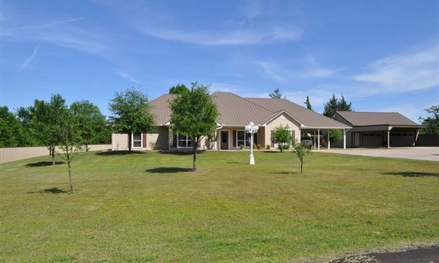 Beautiful home just minutes away from town