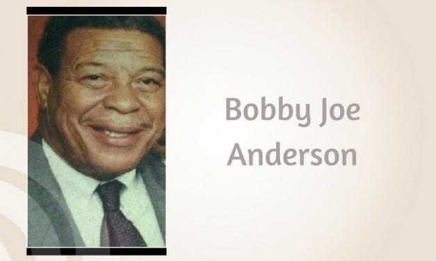 Bobby Joe Anderson of Paris