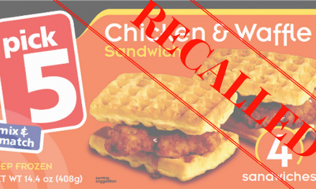 Chicken & Waffle Recall from Save-A-Lot