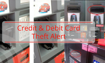 Credit/Debit Card Skimmers being used in Lamar County