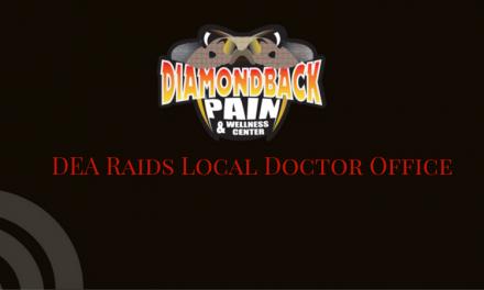 DEA Raids Local Doctor Office