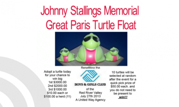 The Great Turtle Float – This Saturday