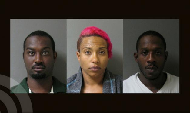 Three arrested for synthetic marijuana, meth, and a handgun