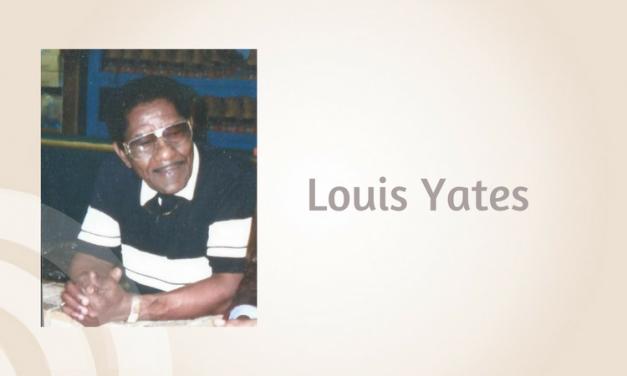 Louis Yates of Paris