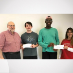 North Lamar Seniors Rast and Walters Receive Scholarships