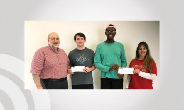 North Lamar Seniors Rast and Walters Receive Scholarships