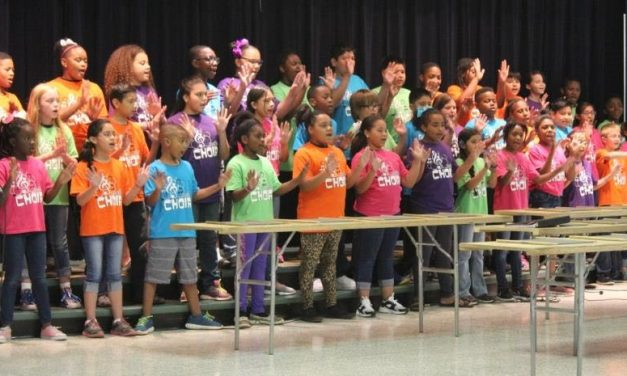 Justiss Choir and Jammers Spring Performance