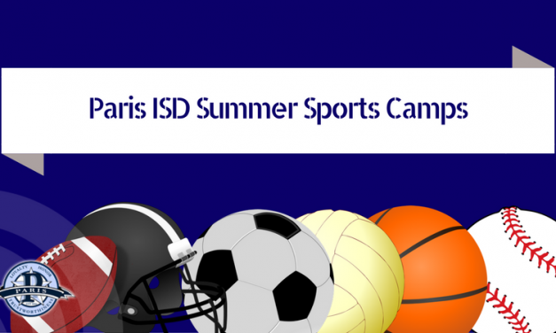 Paris ISD Summer Sports Camps