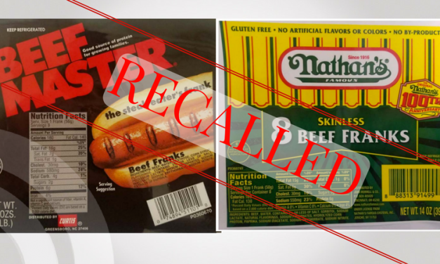 Hot Dogs recalled for containing Metal