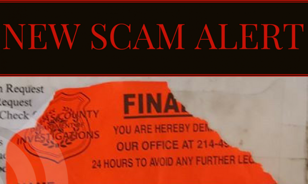 New Scam Alert for Lamar County