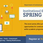 Institutional Effectiveness Spring Series