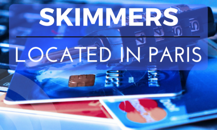 Credit Card Skimmers discovered in two gas pumps on N. Main