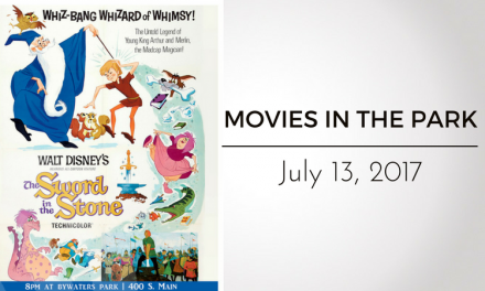 """Movies in the Park presents """"The Sword in the Stone"""" This Thursday"""