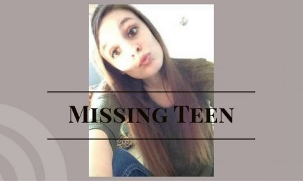 Area 18-year-old female missing