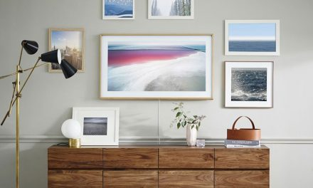 Samsung's new TV is a literal piece of art to hang on your wall