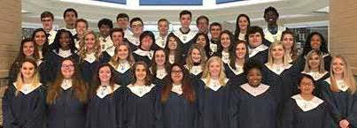 Paris High School Chapter of the  National Honor Society inducts new members