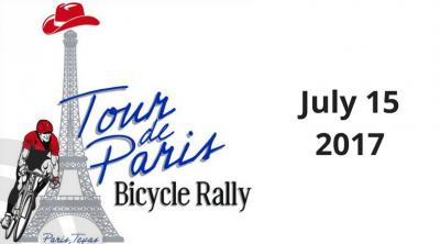 Tour de Paris Scheduled for July 15, 2017 – Registration Information