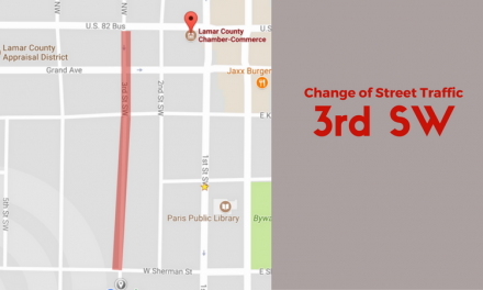 Change of Street Traffic Direction on 3rd Street SW