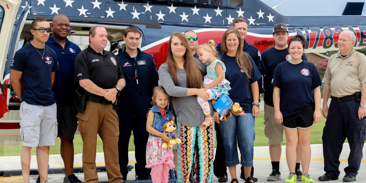 Reno toddler who almost drowned meets the people that saved her life