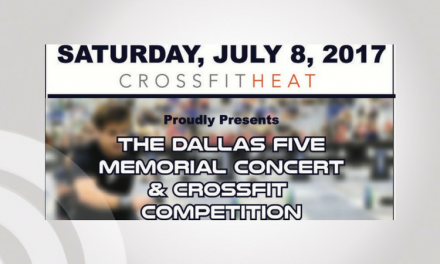 Dallas Five Memorial Concert Held to Honor and Remember the Five Police Officers Killed on July 7th
